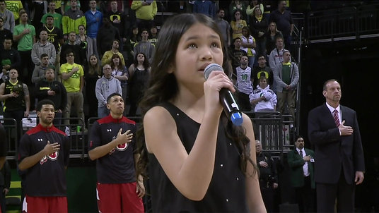 My First Ducks National Anthem at (I was 10 years old.)
