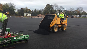 Laser Laid In-Situ Rubber Shock Pad - Exeter FC