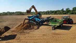 Topsoil Screening Operations - Bedford Pavilion