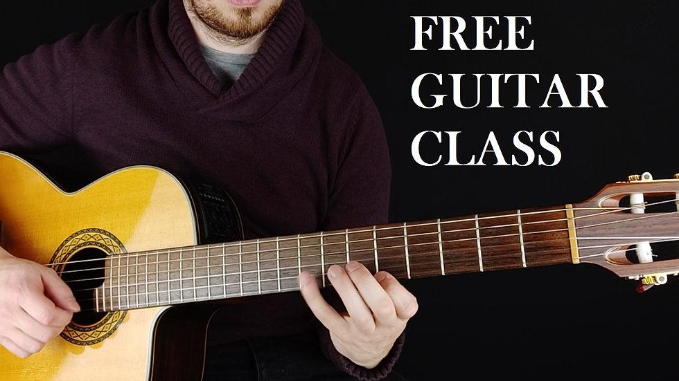 Class 1 - Guitar Introduction
