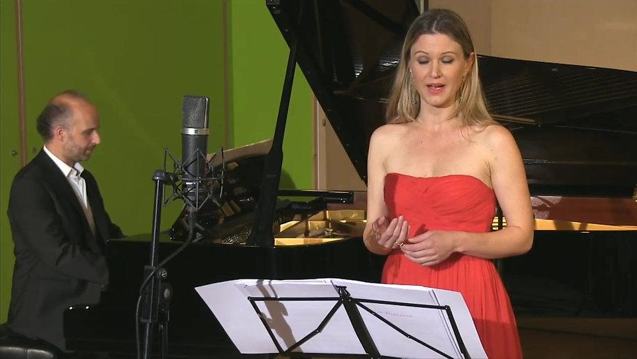 ANDREA SUTER – Sopran  RICCARDO BOVINO – Klavier