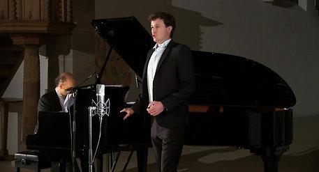 "Luca Bernard - Tenor, Riccardo Bovino - Klavier  ""MALINCONIA?"""
