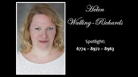 Helen Walling-Richards Showreel