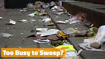 Foot, Soldiers Needed for Sweeping