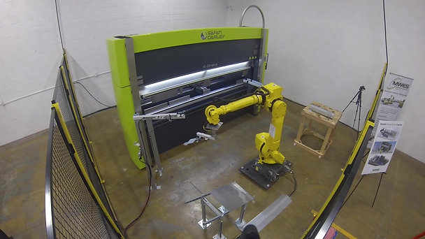 Robotic Brake Press Automation