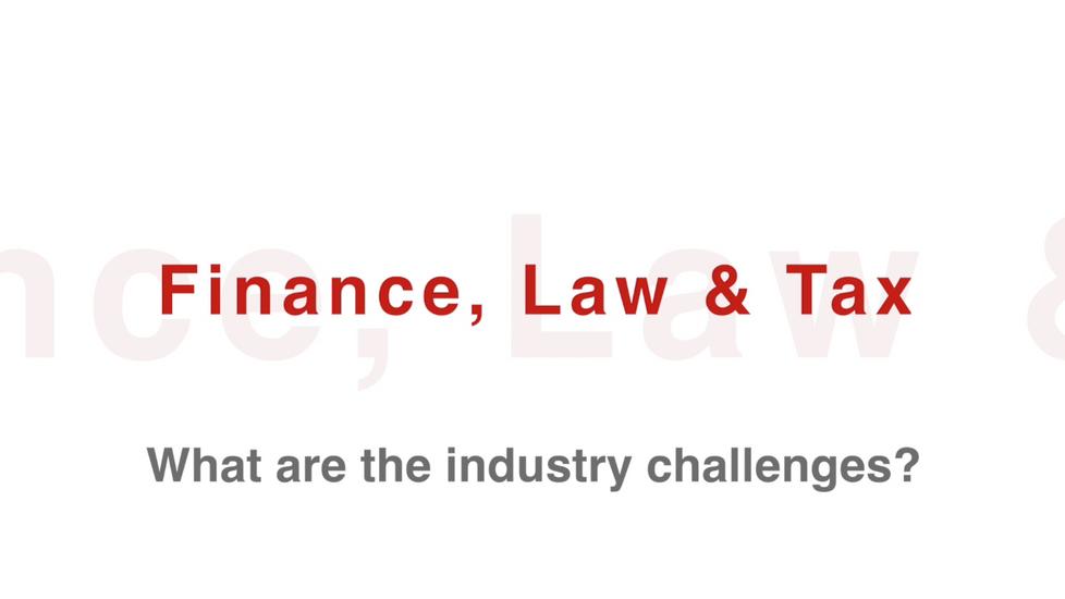 Finance, Law + Tax