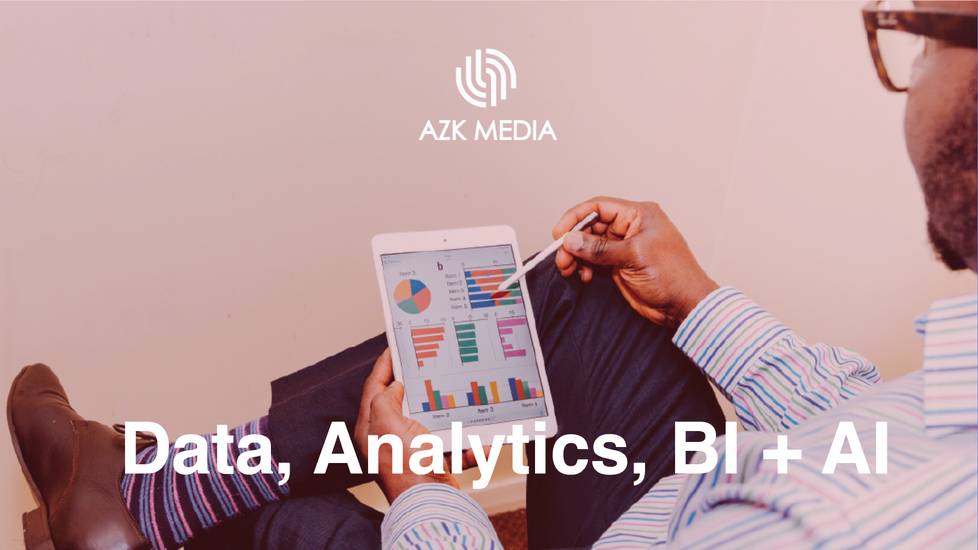 Data Analytics, BI + AI
