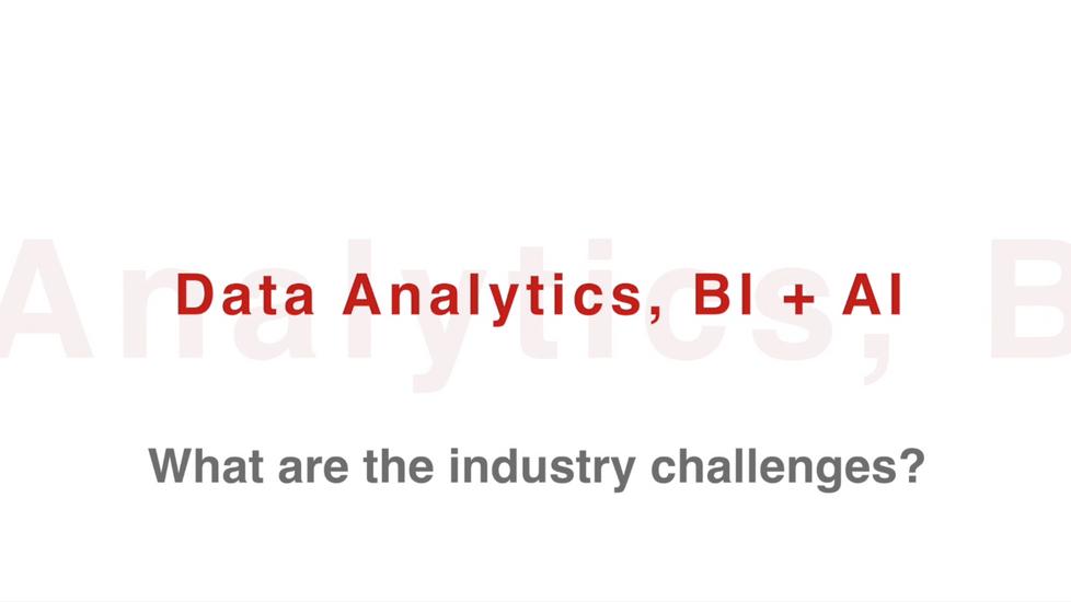Data Analytics, BI + AI