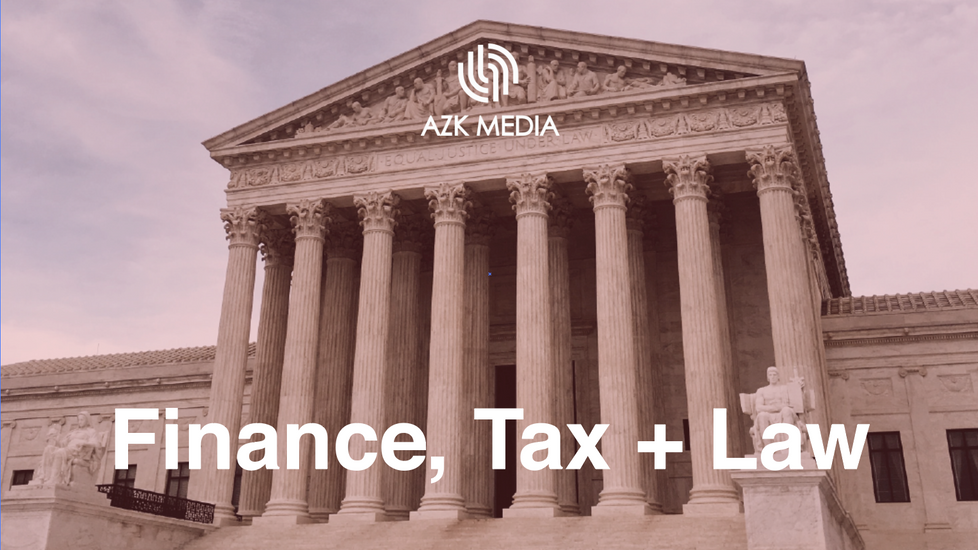 Finance, Law + Tax