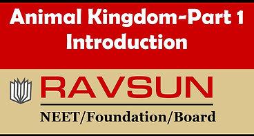 Animal Kingdom-Part 1(Introduction)