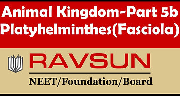 Animal Kingdom-Part 5b(Fasciola)