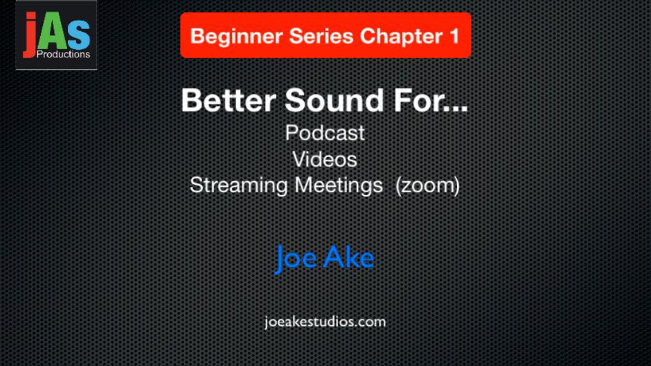 jAs Beginner Series