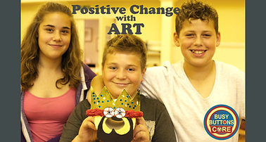 Busy Buttons CORE - Positive Change with ART