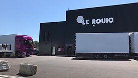 Camion remorque fourgon