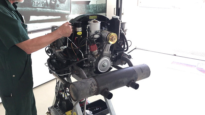 Motorenprüfstand 1900ccm Motor