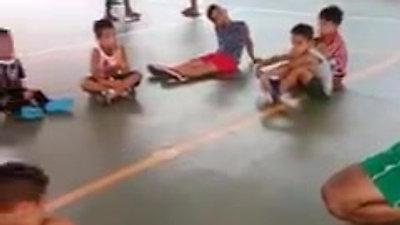 Aula de Futsal Infantil - Jardim Arco Íris