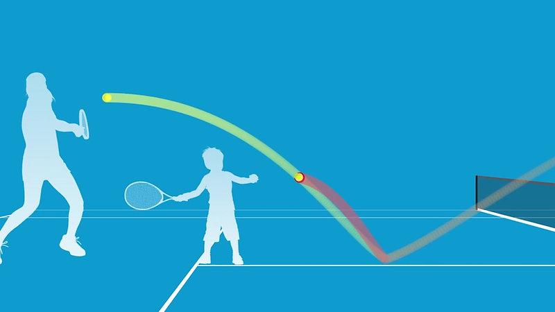 ANZ Tennis Hotshots Ball Sizes