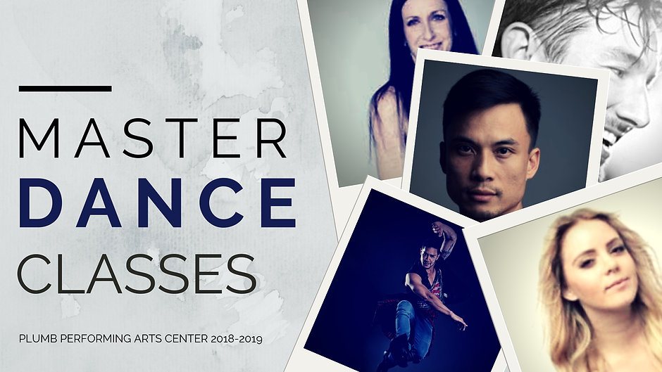 Master Dance Classes At Plumb Performing Arts