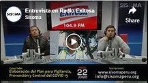 Entrevista en Radio Exitosa