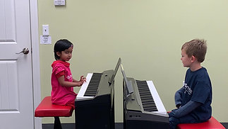 Student Playing ages 4 1/2