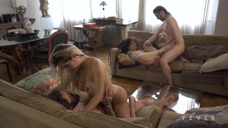 Dread Hot, Mia Linz, Alemão e Mário (Semi-Orgia Fever Films)