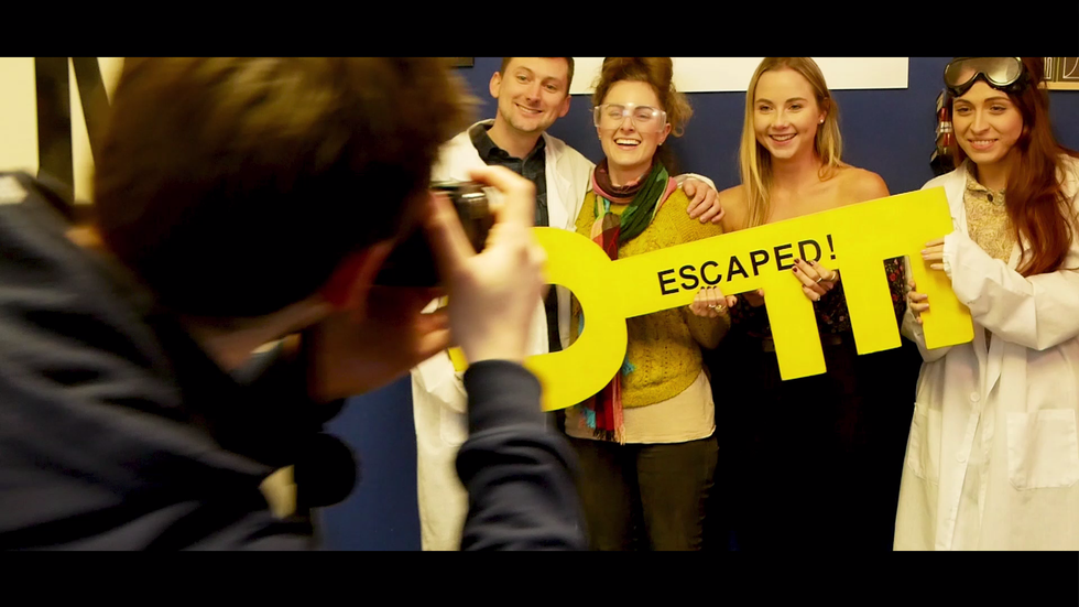 Escape Rooms Durham Trailer 2018