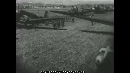 GERMAN NEWSREEL MAY 1941   PARATROOP ASSAULT ON CRETE