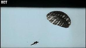 Fallschirmjäger in Crete footage