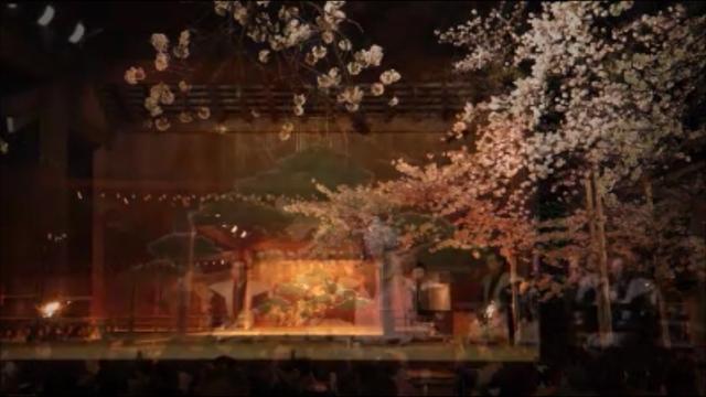 夜桜能ダイジェスト2015年4月1日