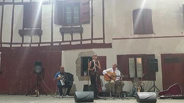 concert fronton Biriatou 26.8.2019