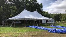 44x63 Sailcloth Tent