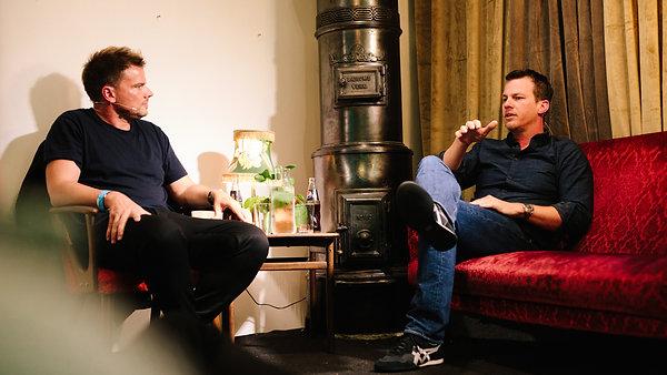 Jonah Nolan with Bjarke Ingels