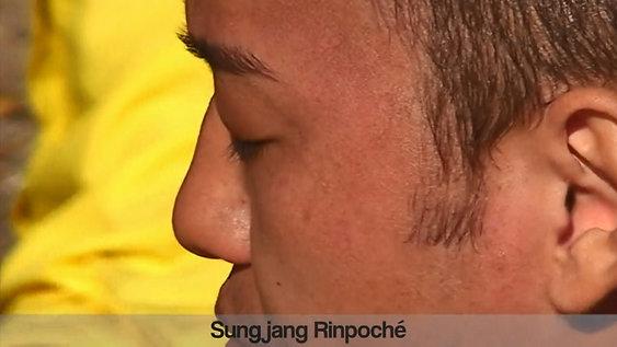 Interview Live avec habillage au monastère de Tatsang Lhundup Lin (France)