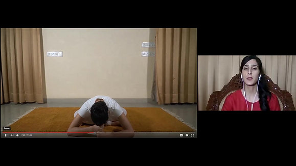 Session 8 - Pratique de Yoga