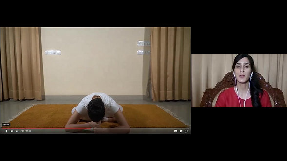 Session 8 - Pratique de Yoga