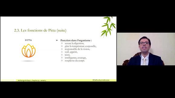 Session 3 - Dosha Vata et Dosha Pitta
