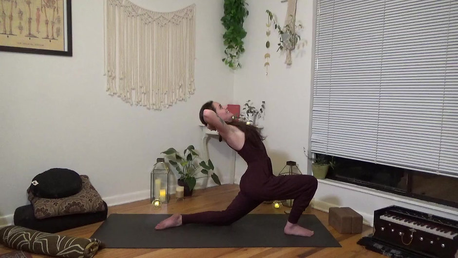 Lift Your Heart to the Sky: An Ustrasana Practice (Slow Flow)