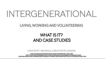 Intergenerational Living | Lydia Stott | Ash Sakula Architects