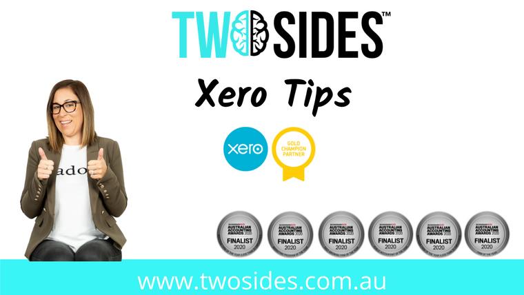 Xero Tips