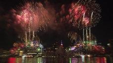 Macy's Fireworks Trailer East River