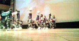 Muestra de baile en la cineteca