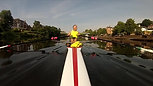 Incredible Catch while Sculling