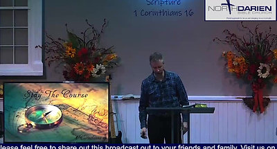 How To Stay The Course ~ Worship Service