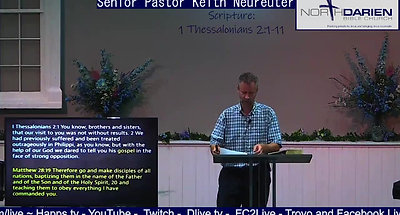 Sunday Worship Service ~ What the cool kids (churches) are doing ~ Not Burning The Steak