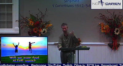 Will We Ever Be Alive Again? ~ Part 1 ~ Worship Service