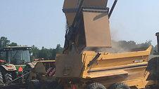 Scorpio trailer dumping