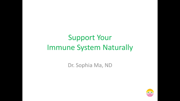 Support Your Immune System Naturally