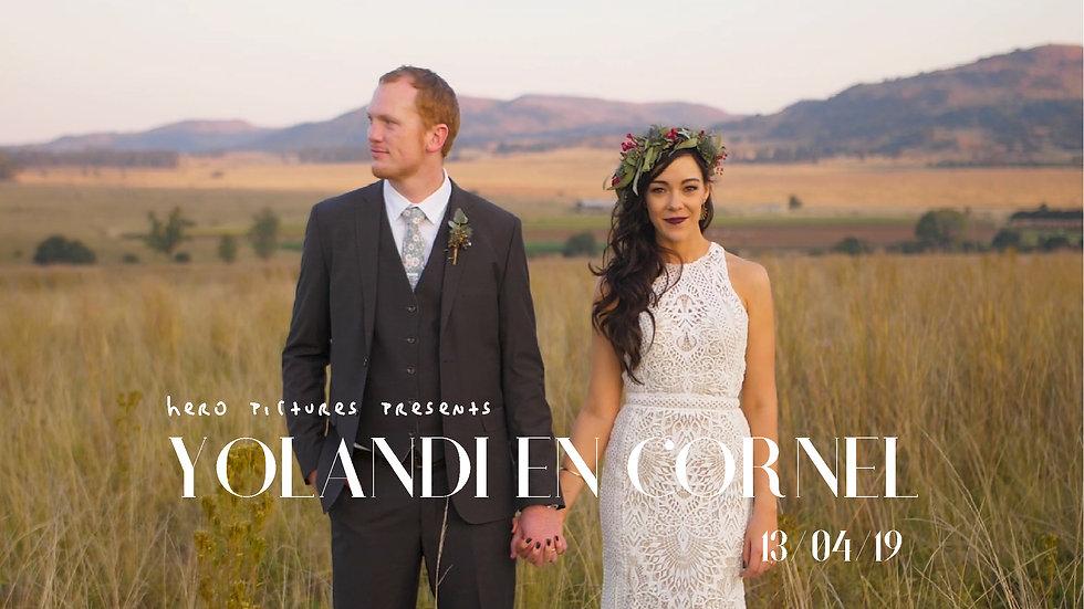 Yolandi & Cornel