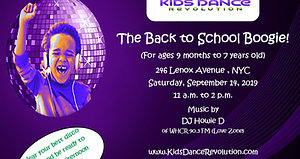 The Back to School Boogie!