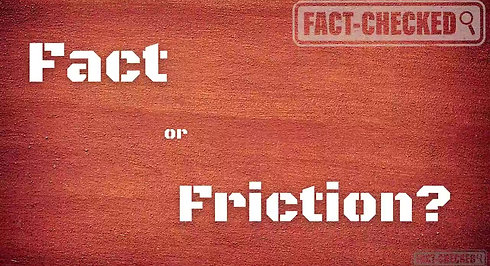 Fact or Friction? Week#4: Friction Within Ourselves